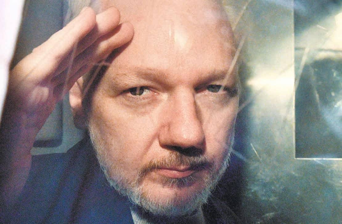 Assange Languishes In Jail