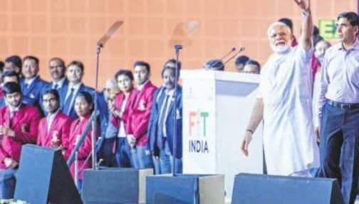 PM Launches Fit India Movement