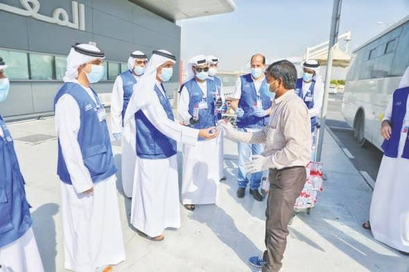 IACAD Helps In Repatriation Of 172 Workers
