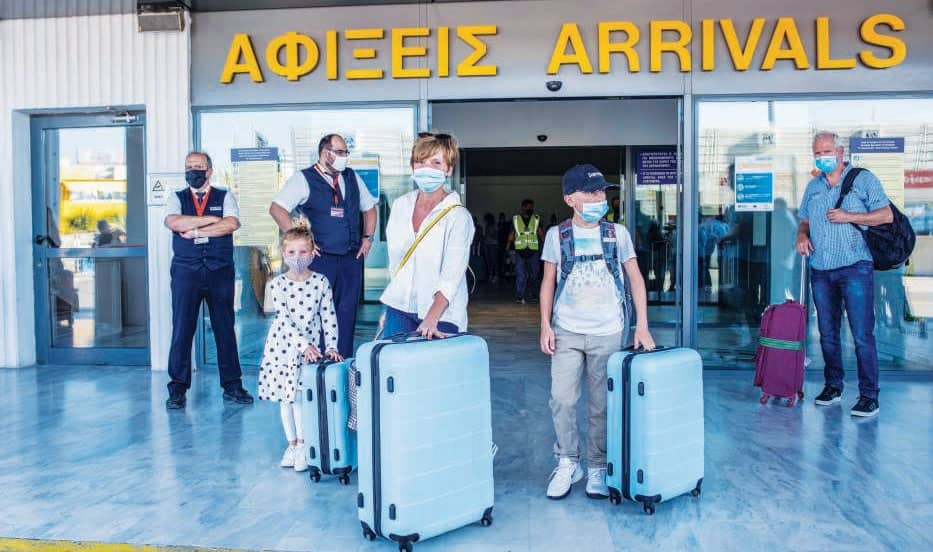 Greece Rolls Out Red Carpet To Visitors As Airports Reopen