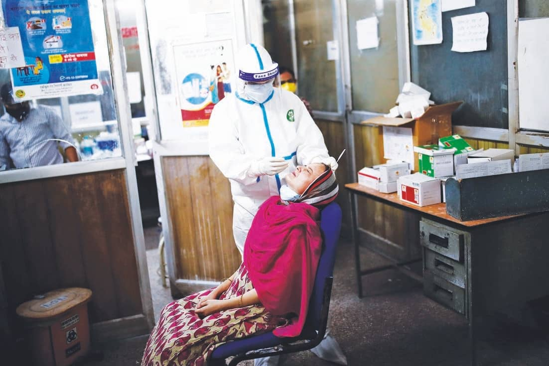 India Reports Record Hike In Virus Cases; Toll Crosses 18,600