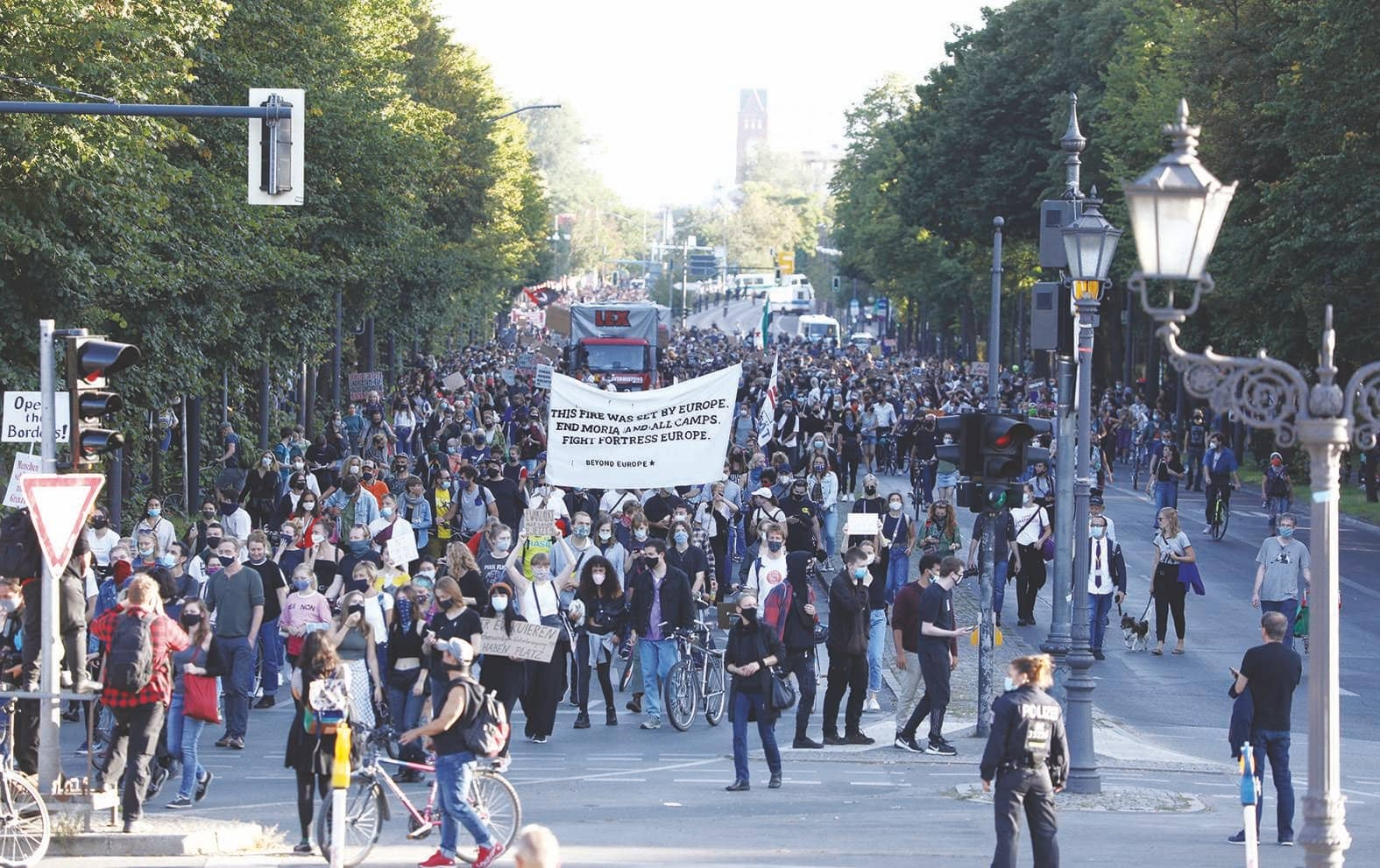 Thousands March In Germany Urging EU To Take In Refugees