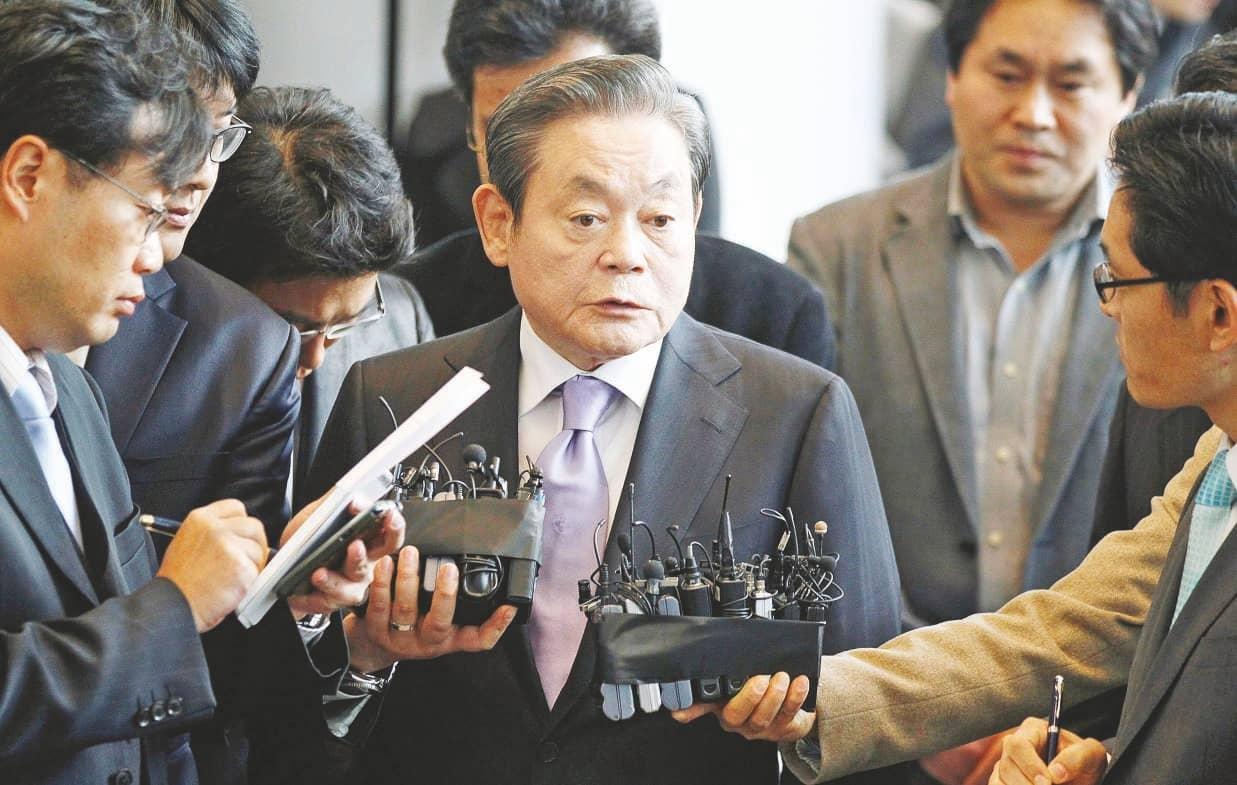 Samsung's Lee Leaves Behind $21 Billion Wealth For Inheritance
