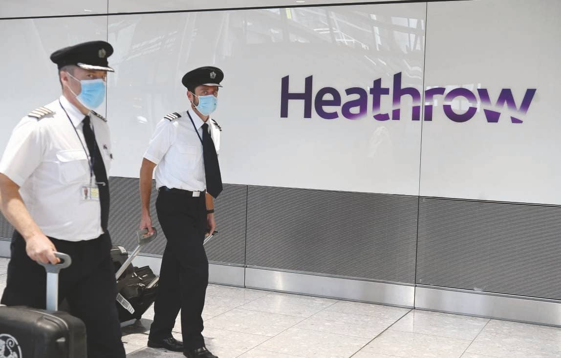 Heathrow Airport slashes outlook for next year's passenger numbers