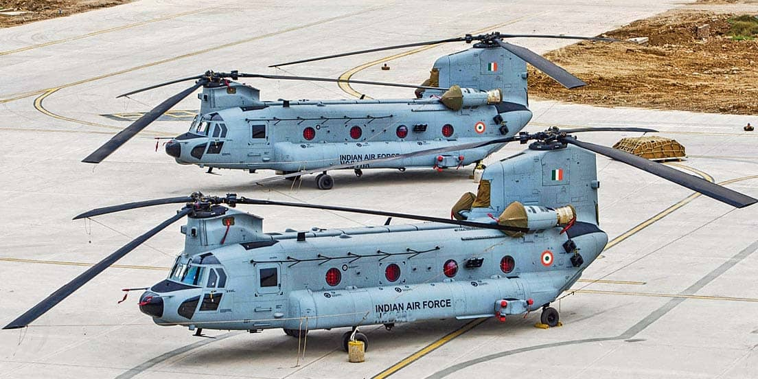 Apache and Chinook to steal Jan 26 flypast show