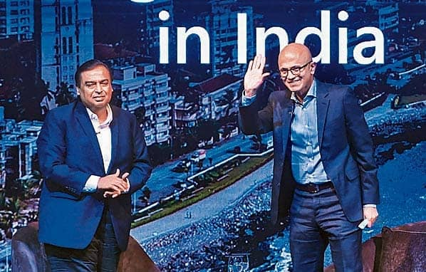 Nadella Sees Wider Scope For Tech Use