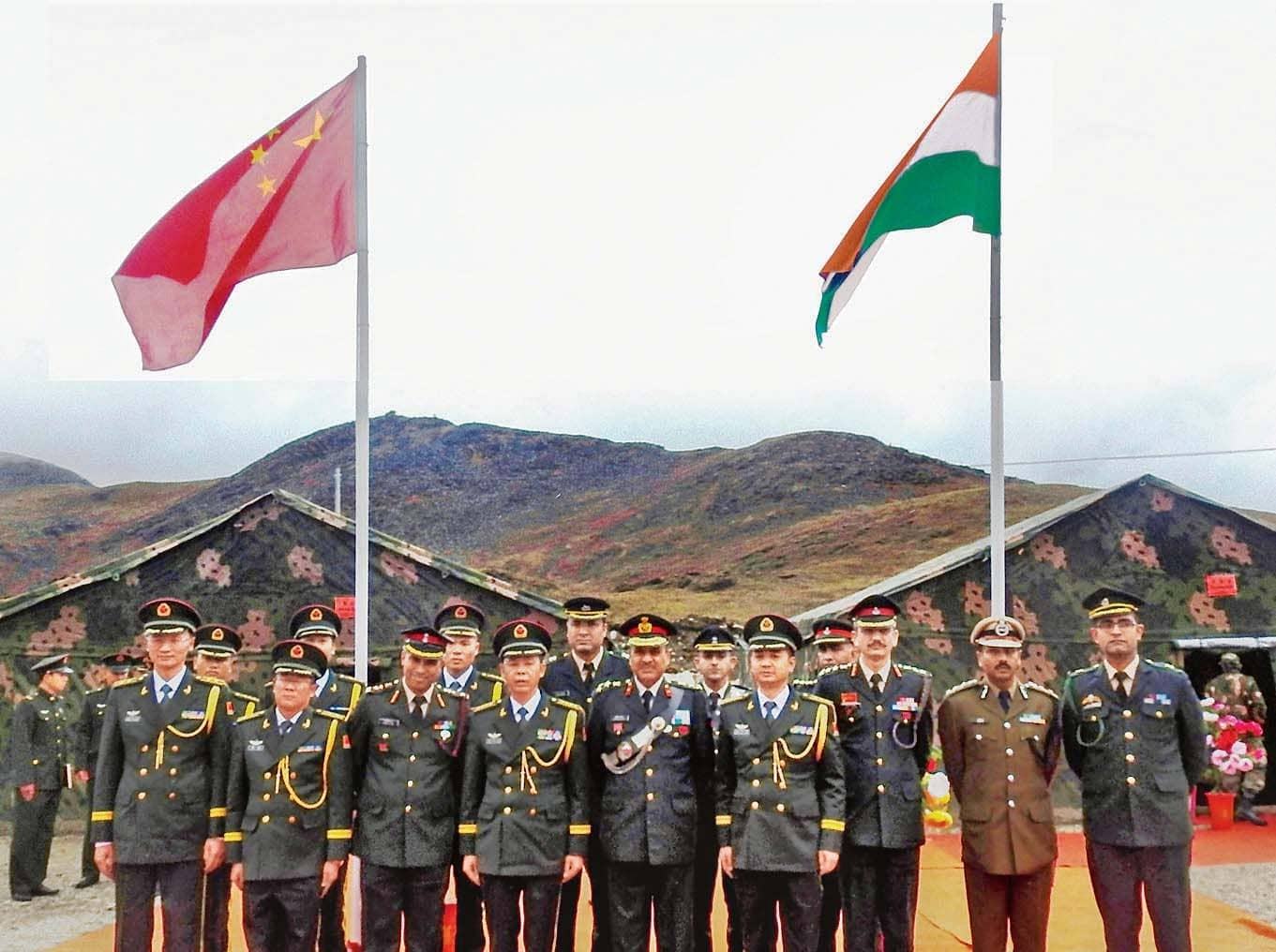 India-China Military Talks End In Impasse