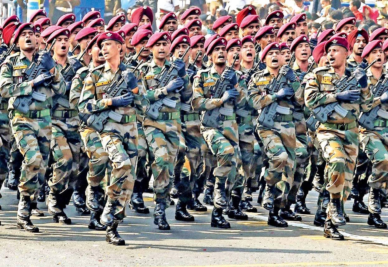 Special Forces Descend On Ladakh