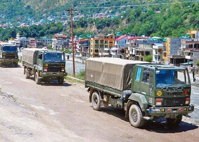 Border Areas Battle Double Whammy Now