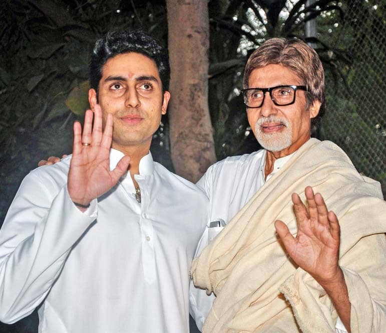 Amitabh, Abhishek Test Covid Positive, Admitted To Hospital