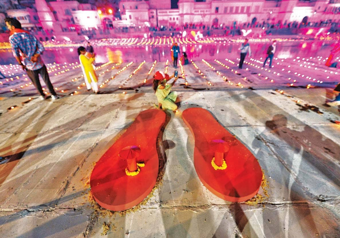 Ayodhya Ready For Ram Temple