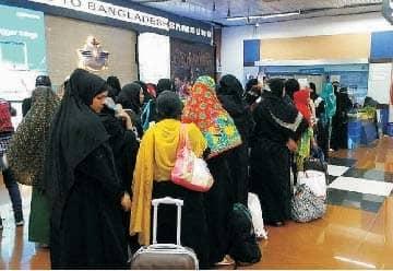 Bangladeshi Female Workers Leaving Saudi Because Of Sexual Abuse