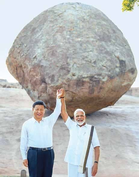 Modi-Xi Bond In Majestic Mamallapuram