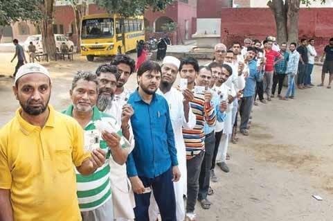 Turnout: 60.5 % In Maha., 65% In Haryana