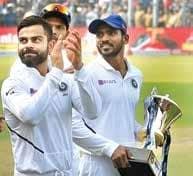 India Win Record 12th Successive Series At Home