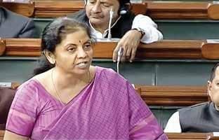FM Introduces Bill In Lok Sabha To Cut Corporate Tax