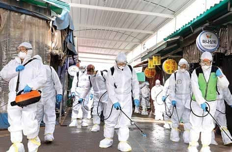 S Korea On Frontline As Coronavirus Spreads