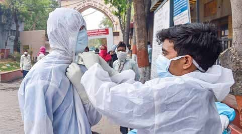 India Sees Biggest 1-Day Jump With 7,466 New Covid Cases