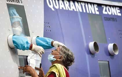 As Cases Breach 2L Milestone, Govt Says 'India Far Away From Peak'