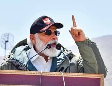 Era of expansionism is over, says PM Modi