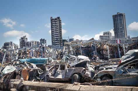 Sharp rise in virus cases in Lebanon after deadly blast