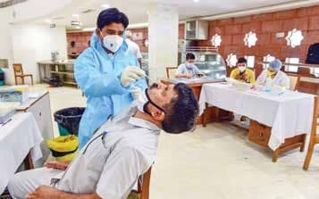 India's Coronavirus tally goes past 52L, recovery rate 78.86%