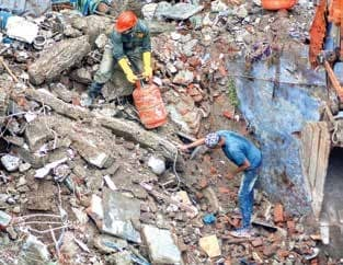 Maha: Death Toll In Bhiwandi Building Collapse Rises To 39