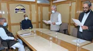 DK Sharma Takes Oath As Chairman HPERC