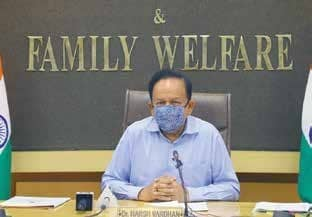 Vardhan: Next 3 Months Decisive In Determining India's Covid Trajectory