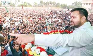 Lalu Coming Out On Bail On Nov 9, Nitish's Farewell Next Day: Tejashwi