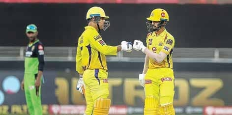CSK Hang In By A Thread After Beating RCB By 8 Wickets