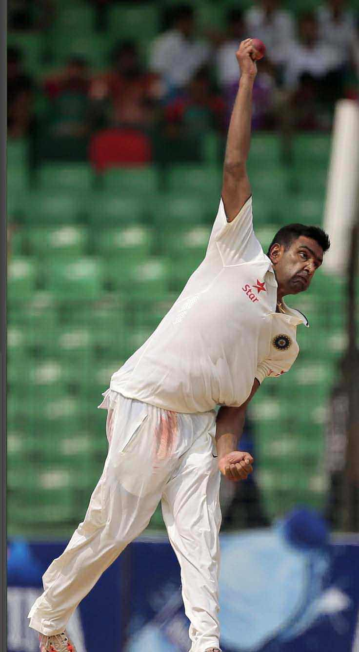 Spinning Away With Ashwin!