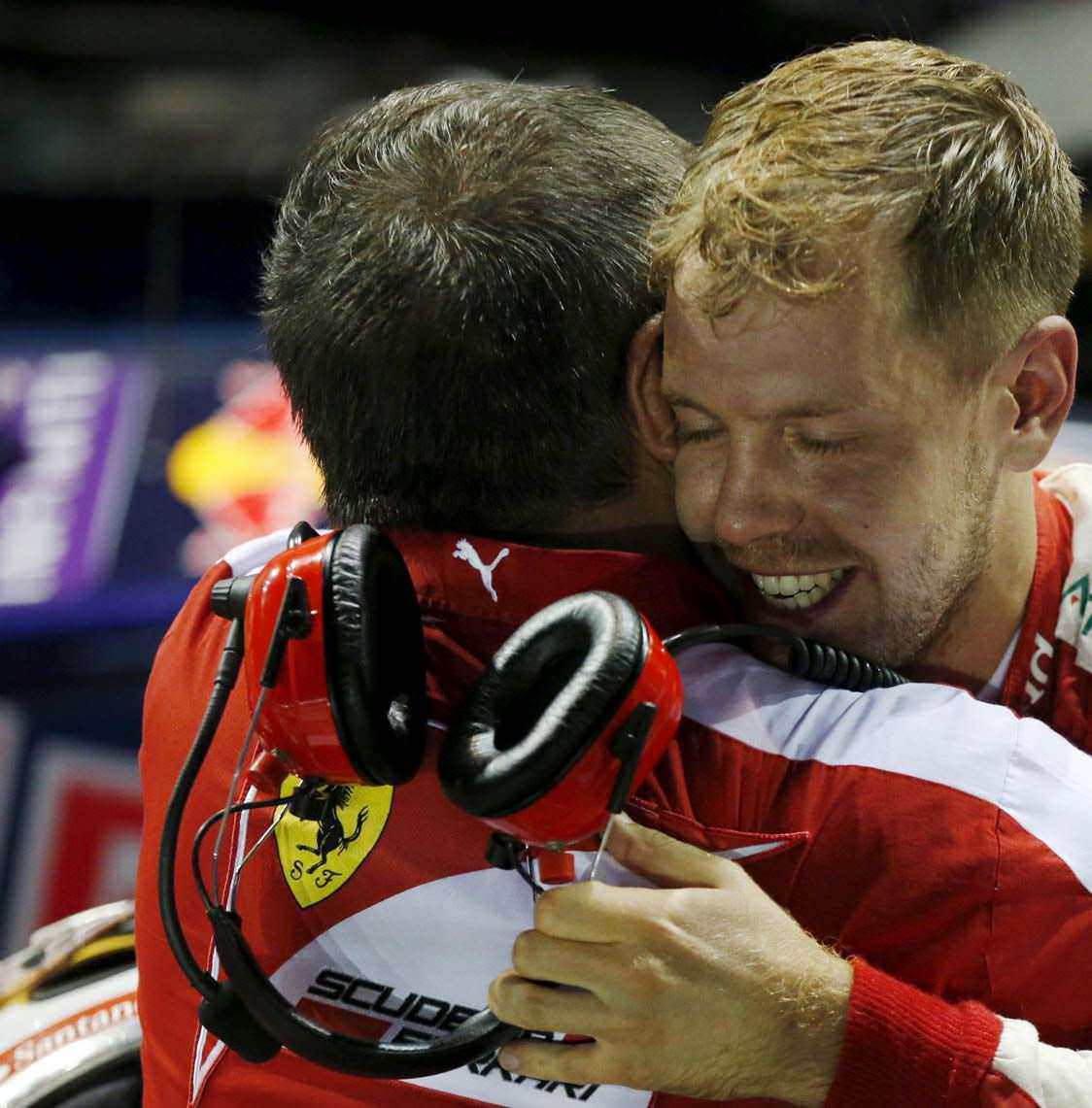 Vettel's Pace Leaves The Rest In A Daze