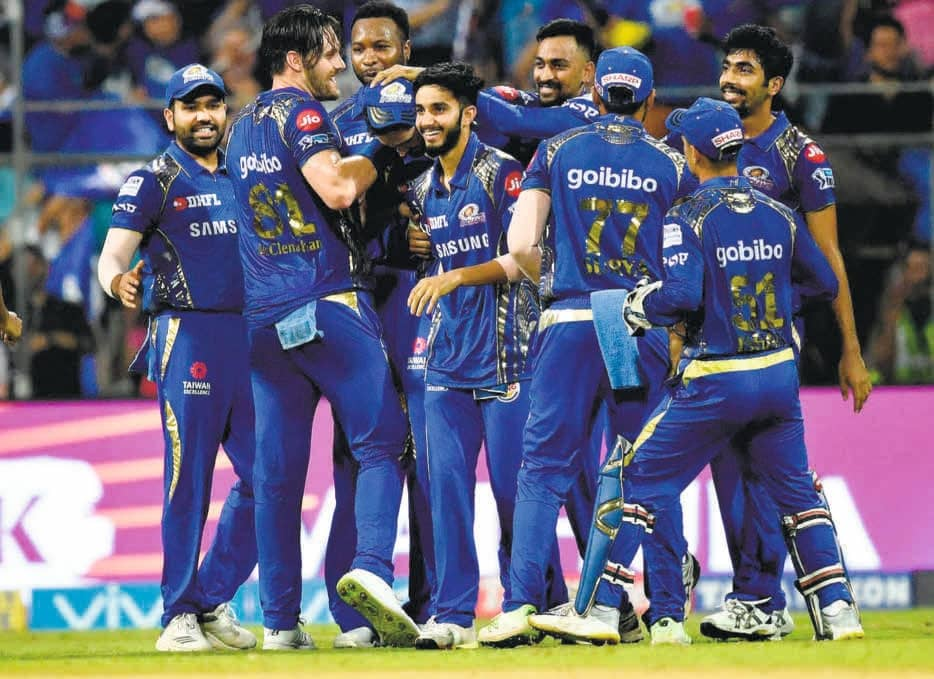 Mumbai Indians - Strengthening Its Back-Up Options