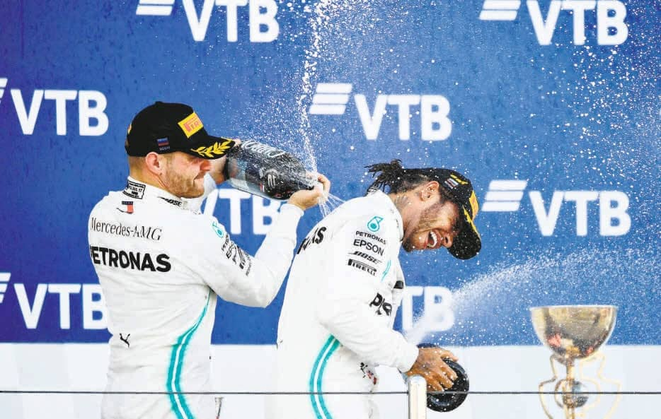 A Dollop Of Luck For Mercedes