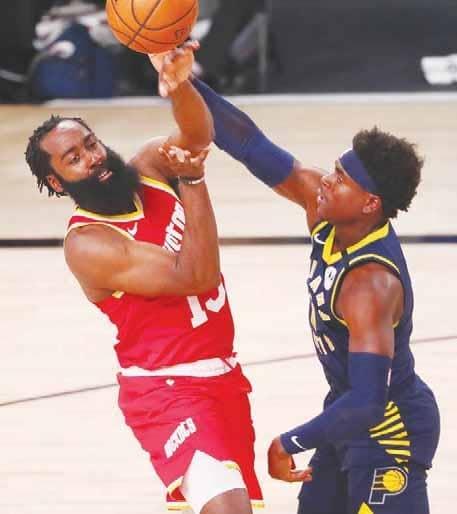 NBA RESTART PLAYOFFS Pacers to face Heat; Clippers battle Mavs