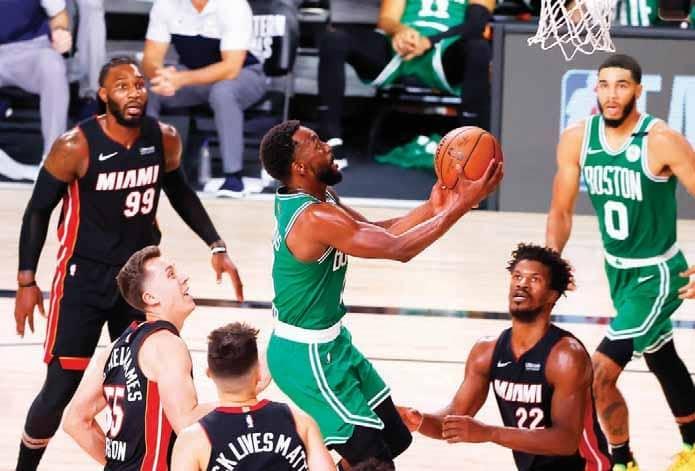Celtics Strike Back Vs Heat, Skip 0-3 Hole