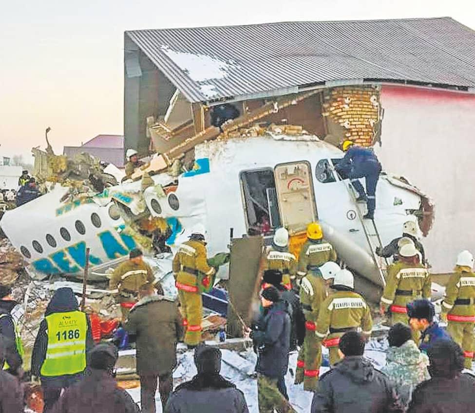 Dozens Of Survivors In Deadly Kazakh Air Crash