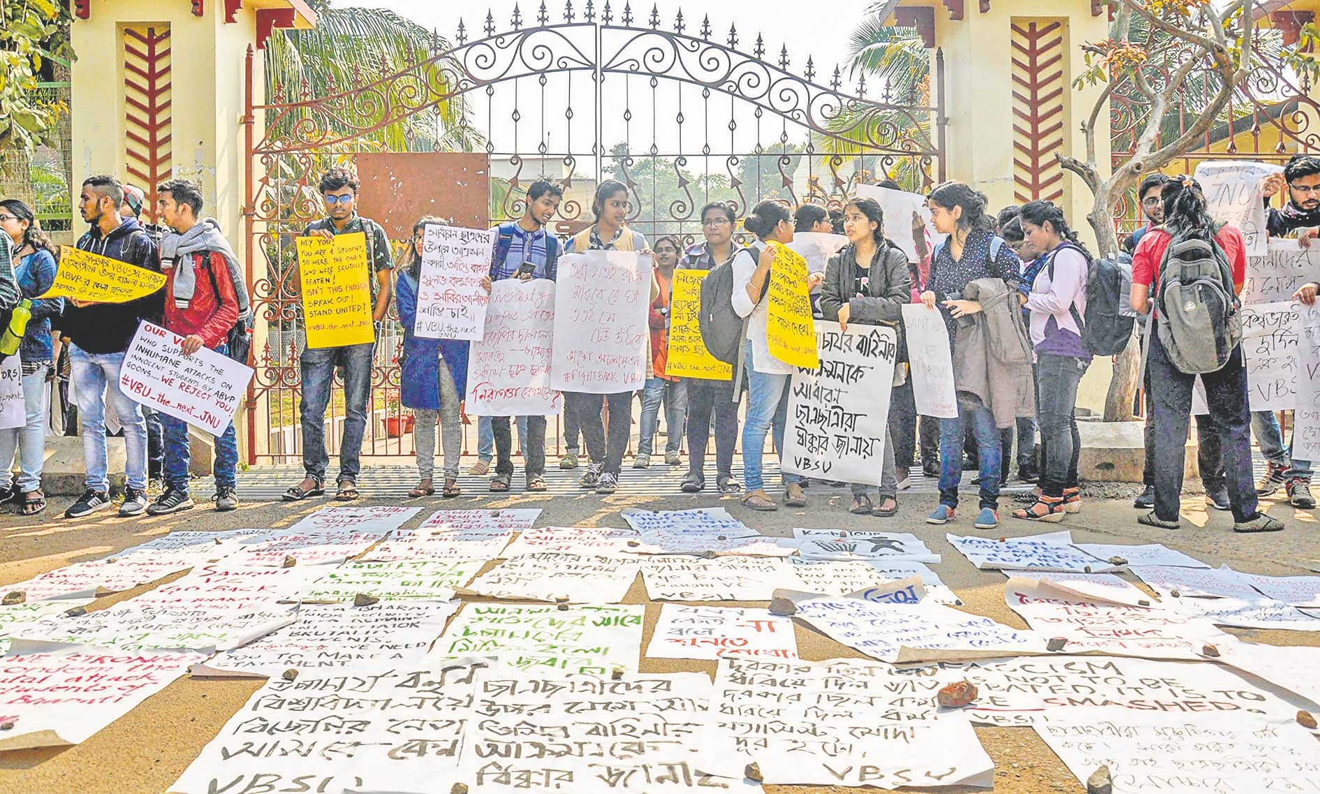 5 SFI Students Allegedly Attacked By ABVP Activists