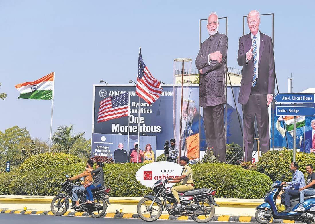 INDIA EAGER TO WELCOME TRUMP: MODI