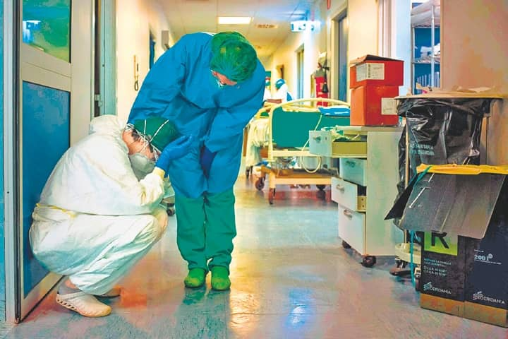 Infections Keep Rising, 793 Die In Italy In One Day