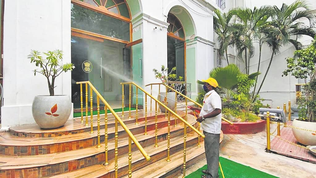 Staff Tests Positive, Raj Nivas Closed For 2 Days
