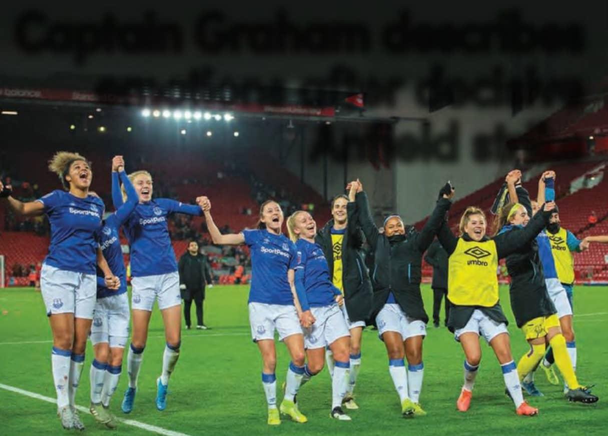 Captain Graham Describes Emotions After Decisive Anfield Strike