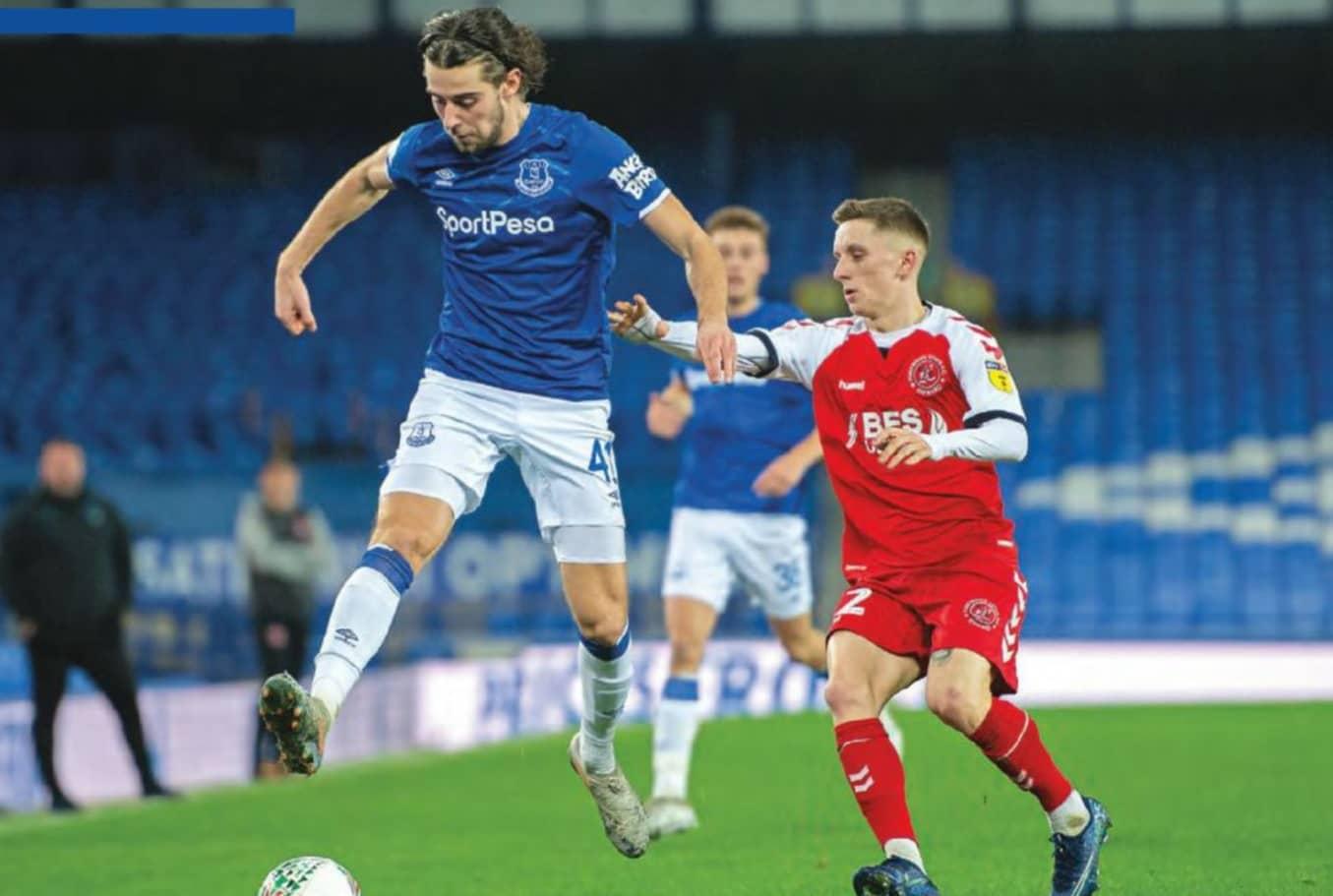 'Top talent' Evans reaping rewards of hard graft