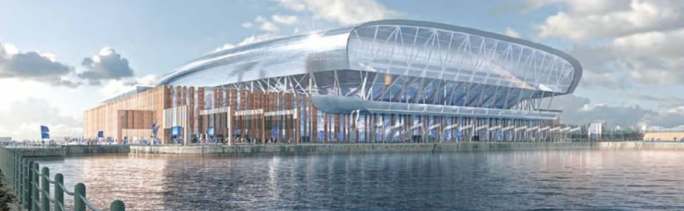 EVERTON REVEALS FINAL STADIUM DESIGNS AS PLANNING APPLICATION IS SUBMITTED