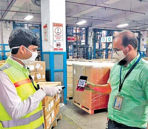 Airport Gets E-gate Pass Facility At Cargo Terminal