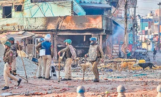 Riots: Court Seeks Police Reply On Activists Plea