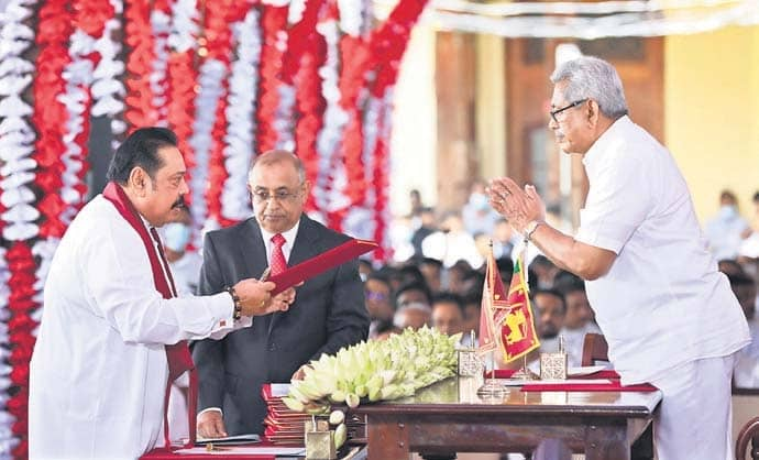 Rajapaksa's New Cabinet Reflects Family And Loyalty