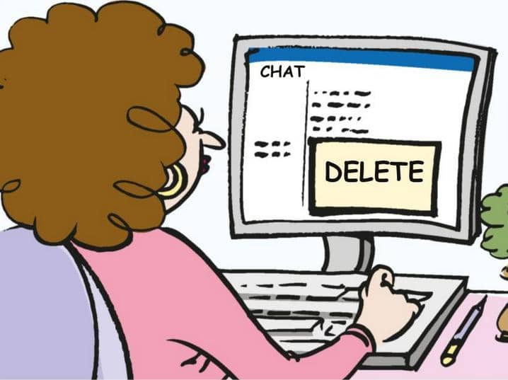 Click That Delete Button!!