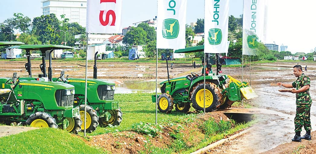Singer With John Deere Partners National Mission To Cultivate Fallow Paddy Lands
